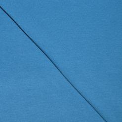 Tissu jersey coton-élasthanne uni indigo
