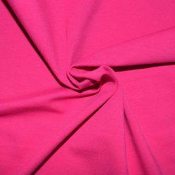 Tissu jersey coton-élasthanne uni Tissu jersey coton-élasthanne uni fuchsia