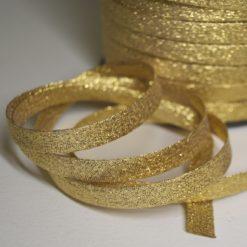 Biais lurex or, Biais couture doré de belle qualité