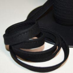 Passepoil coton noir, de belle qualité