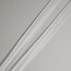 Passepoil satin blanc, de belle qualité