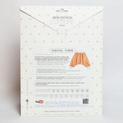 Kit couture sarouel Simon - Du 1mois au 36mois - Patron + tissu & co -