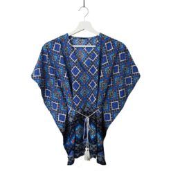 Kit coutureTop Vanille couleur marine - Patron + tissu & co - Femme - Du 34 au 44