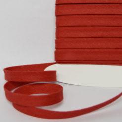 Biais coton rouge de belle qualité