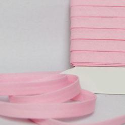 Biais coton rose de belle qualité