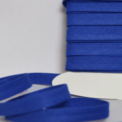Biais coton bleu roi de belle qualité