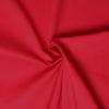 Tissu popeline 100% coton rouge, de belle qualité