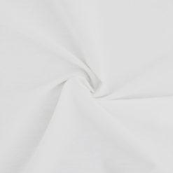 tissu popeline de coton blanc