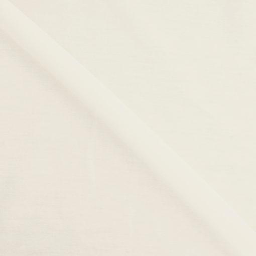 Tissu popeline coton écru de belle qualité