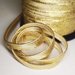 passepoil lurex doré-passepoil couture