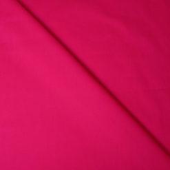 Tissu popeline coton fuchsia de belle qualité