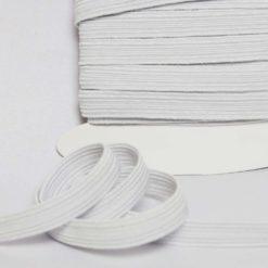 Ruban élastique Blanc, Largeur 1cm