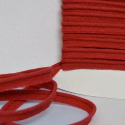 Passepoil coton rouge de belle qualité - Passepoil couture rouge