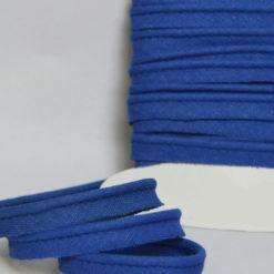 Passepoil coton bleu roi de belle qualité - Passepoil couture bleu roi