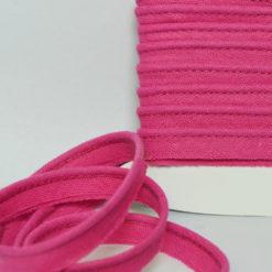 Passepoil coton fushia de belle qualité - Passepoil couture fushia