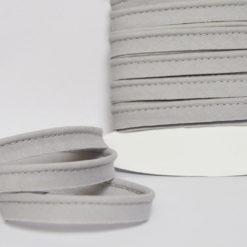 Passepoil coton gris clair, de belle qualité - Passepoil couture gris clair