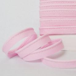 Passepoil coton rose de belle qualité - Passepoil couture rose