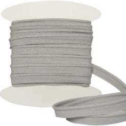 passepoil coton gris clair
