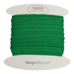 passepoil coton vert sapin