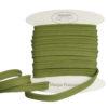 passepoil coton vert tilleul