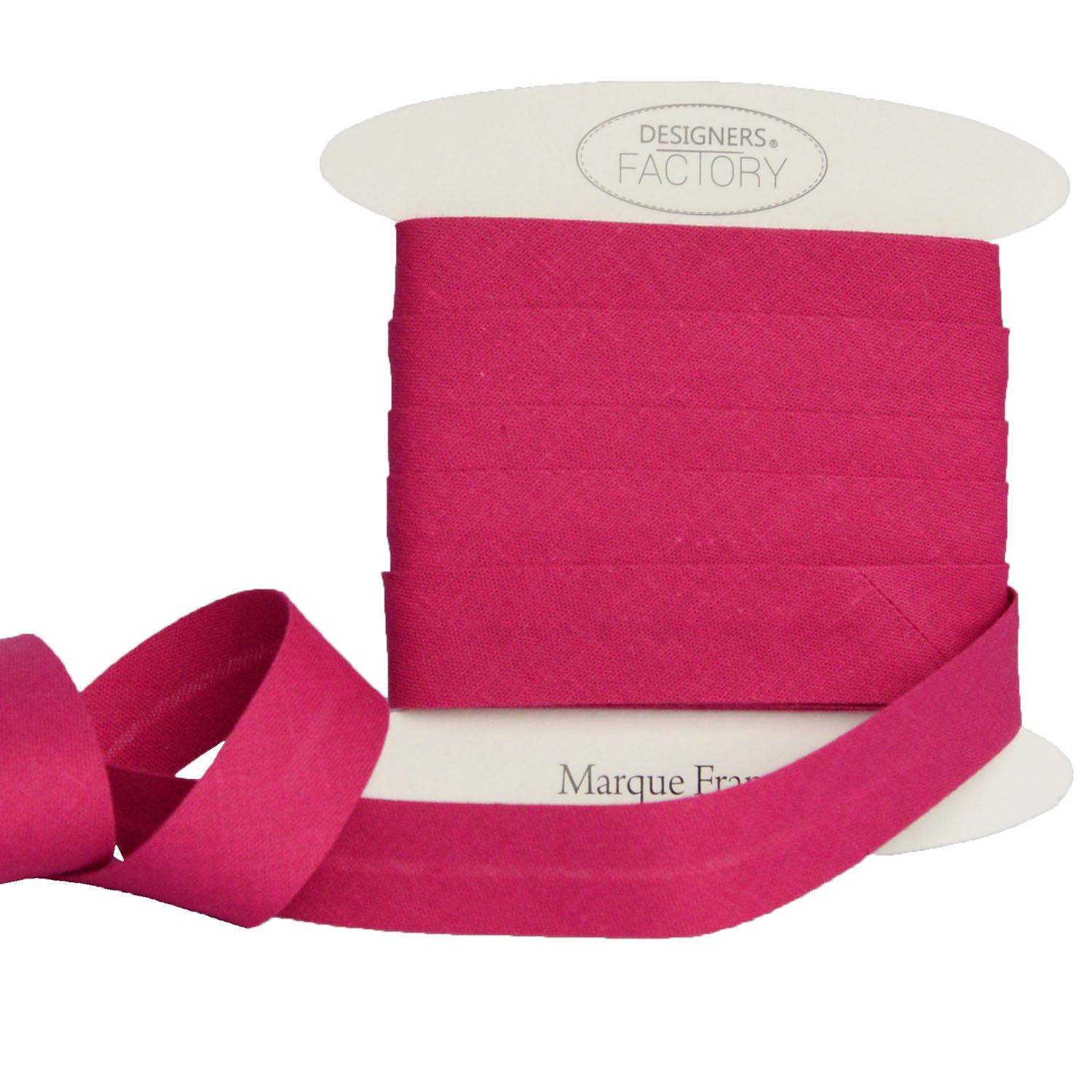 designers-factory Beautiful Quality Plain Cotton Bias Binding By 5 meters, Red available in several colours and two sizes Cotton Bias Binding