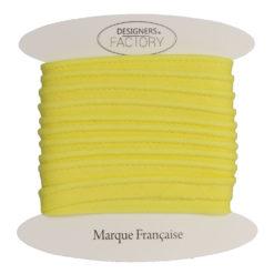 passepoil coton jaune