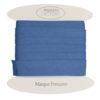 Cotone cucitura sbieco Blu indaco
