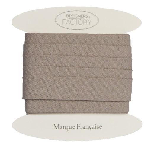Cotone cucitura sbieco Marrone chiaro