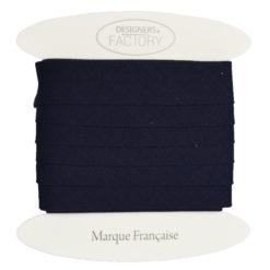 biais coton marine