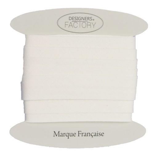 Cotone cucitura sbieco Bianco
