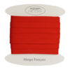 Cotone cucitura sbieco Rosso
