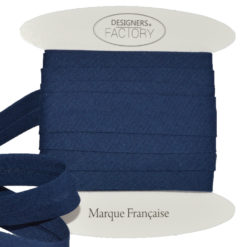 Navyblau Baumwoll Schrägband