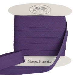 Violett Baumwoll Schrägband
