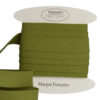 Biais coton vert tilleul