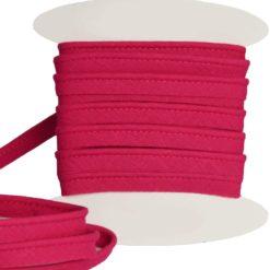 Passepoil coton fuchsia de belle qualité
