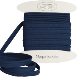 Passepoil coton navy