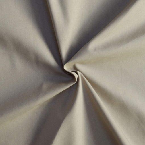 Tissu popeline coton beige