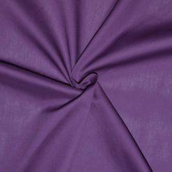 tissu popeline violet