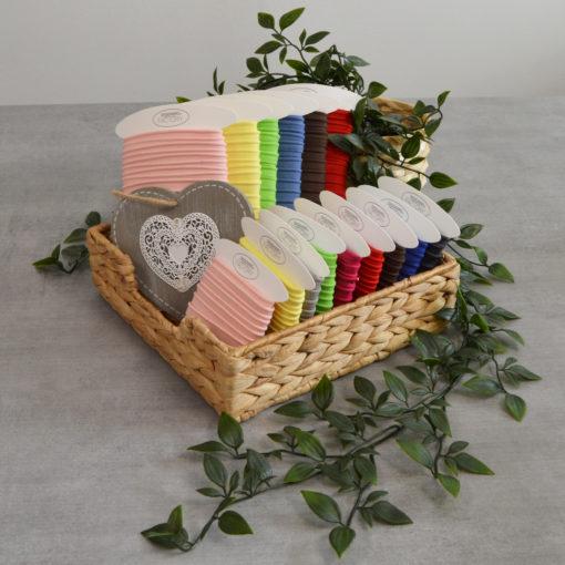 Passepoil coton de belle qualité, disponoble en plus de 20 coloris.