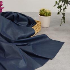 Tissu simili cuir marine