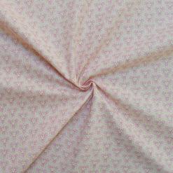 Tissu coton imprimé graphic rose